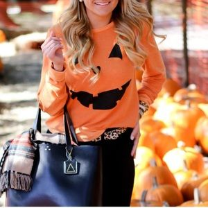 Wildfox Pumpkin Sweatshirt